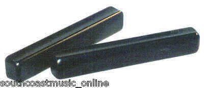 """Ed205 Claves 7.25"""" Inch Ebonized Wooden Percussion"""
