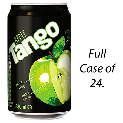 TANGO APPLE 330ml X 24 CANS FIZZY DRINKS WHOLESALE RETAIL SUPPLIES  247213