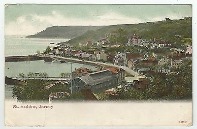 tr channel islands postcard jersey