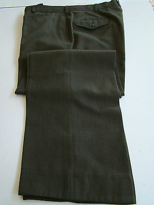 Usmc Marine Corps Enlisted Nco Officer Service Dress Green Trousers Pants Sz 40