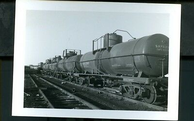 Railroad Photo Shpx Oil Tankers Charlestown, Mass  1961
