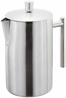 Stellar Double Wall Matt Stainless Steel 12 Cup 1.4L Cafetiere Coffee Maker SM13