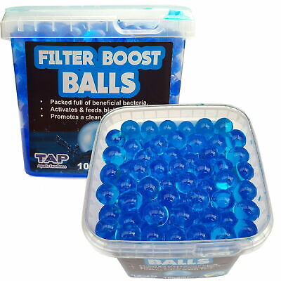 Pond Filter Boost Balls Quick Start Crystal Clear Healthy Water TAP 500/1000ml
