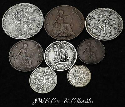 1936 George V Great Britain Coin Year Set