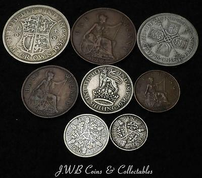 1936 George V Great Britain Coin Year Set.