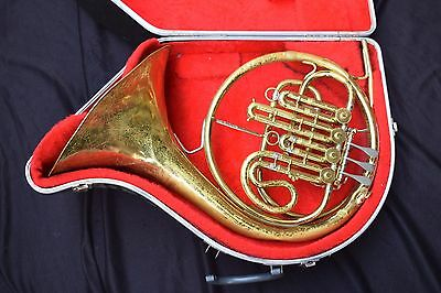King Single French Horn in Bb - A Stop Valve