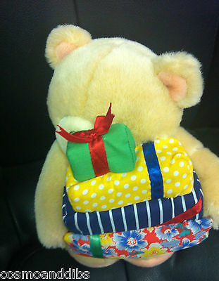 Forever Friends Large Bear Holding Presents  Soft Toy