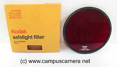 Kodak No.1A Light Red 5½-in. Safelight Filter  orthochromatic materials 152157