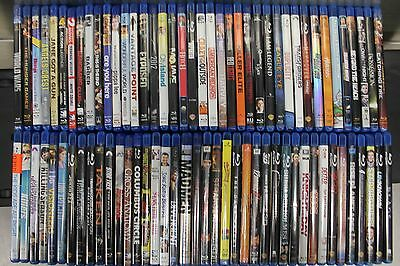 Blu Ray Movie Lot (80) Comedy Horror Drama Indie Family Suspense Near Mint- Mint
