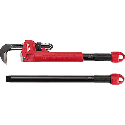 NEW MILWAUKEE 48-22-7314 steel high quality cheateR PIPE WRENCH TOOL SALE