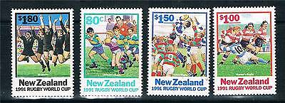 New Zealand 1991 World Cup Rugby SG 1623/6 MNH
