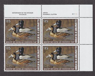 US RW74 Federal Duck Hunting Stamp Mint Block of 4 VF-XF OG NH (002)