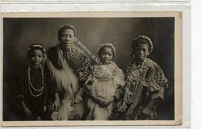 (Ga8772-477) RP, Zulu Family,  Unused VG