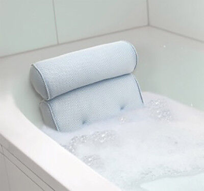 Bath Spa Neck Pillow Comfortable Easy Clean Hygienic Ventilated Quick Dry UK