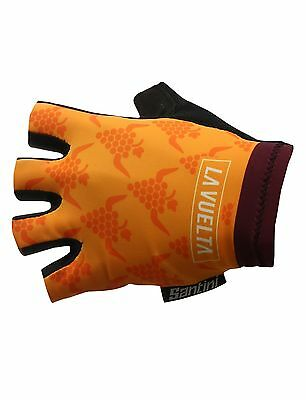 2017 UCI Summer CYCLING GLOVES Made in Italy by Santini