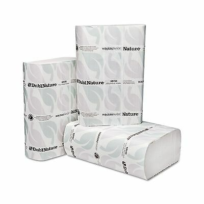 """WAUSAU PAPERS WAU 48140 DublNature Multifold Towels 9 1/8"""" x 9 1/2"""" 250/P... New"""