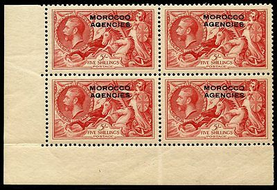 Great Britain Offices In Morocco Scott#243 Corner Block  Mint Never Hinged