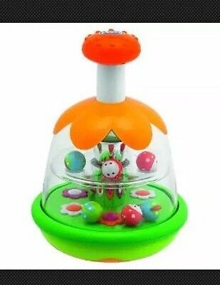 Chicco Butterfly Spinner Toy Ladybugs & Butterflies Flower Baby Spinner 6+ Mths
