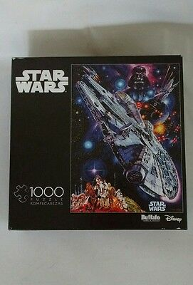 Jigsaw Puzzle Buffalo Star Wars 1000 Piece Meditation Collection Extra pieces