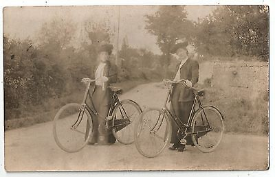de transport postcard england travel cycling bicycle