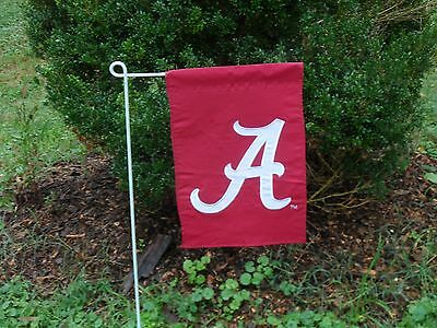 University Of Alabama Garden Flag Embroidered By Evergreen