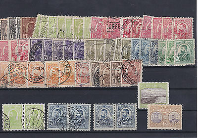 Romania 1908 Used Stamps Ref: R7383