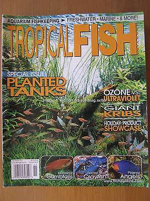 Tropical Fish Hobbyist November 2012 Planted Tanks Combtails Electric Crayfish