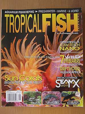 Tropical Fish Hobbyist August 2011 Leopard Wrasses Sun Corals Nano Livebearers
