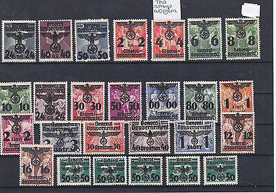 German General Government Mounted Mint Stamps 1940 Ref: R6917
