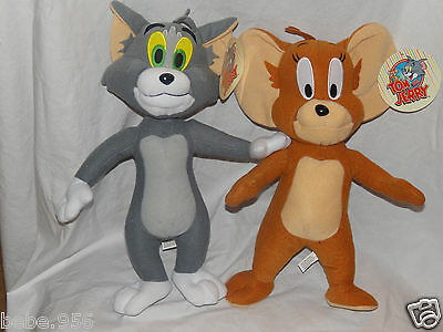 New  With Tags Tom & Jerry Plush Doll   14 And 15 Inch Tall