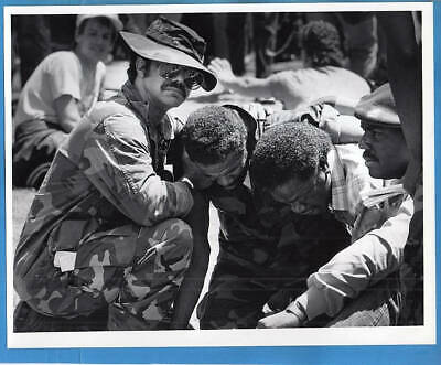 1980s Vietnam Veterans Parade Grant Park Chicago Illinois Original Press Photo