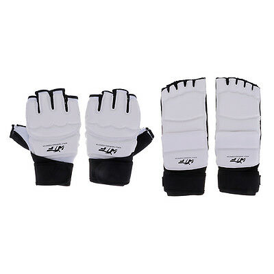 TaeKwonDo Glove Hand Foot Guard Protector for Martial Arts Sparring Karate Safe