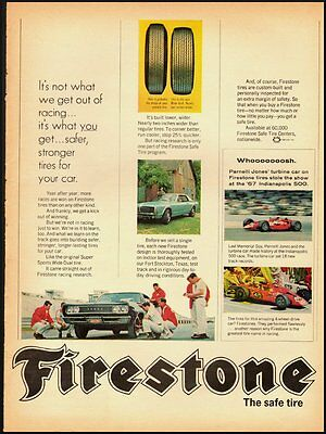 1960's Vintage ad  for Firstone-The safe tire  (082312)