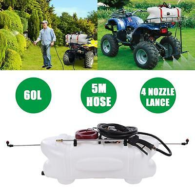 60L ATV Weed Sprayer  2 in 1 Spray Tank & Pump With Boom 12V Garden Farm Spot