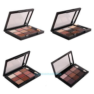 New 9 Colors Shimmer Matte Eye Shadow Makeup Palette Light Eyeshadow Cosmetic