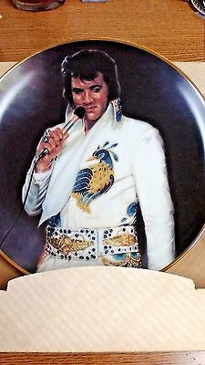 "Elvis Presley 10.5"" Plate ""tenderly"" New In Box Authentic Collectible"