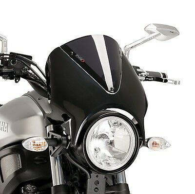 windschild silbern yamaha xsr 900 16 eur 139 95. Black Bedroom Furniture Sets. Home Design Ideas