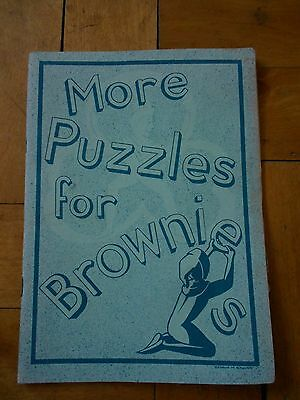More Puzzles for Brownies - published in 60's