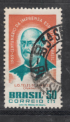 BRAZIL 1969 50c Centenary  Very Fine Used