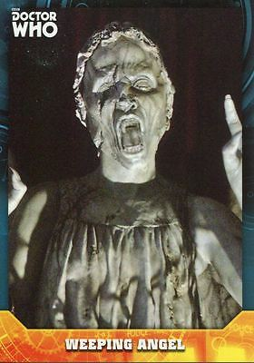 Doctor Who Signature Series Base Card #54 Weeping Angel
