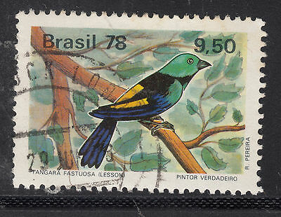 BRAZIL 1978 9cr50 Bird Very Fine Used