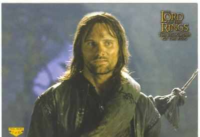 Lord Of The Rings FotR Puzzle Sticker Chase Card 2 Of 10