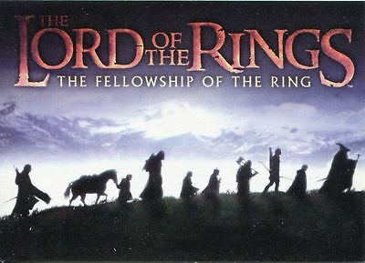 Lord Of The Rings FOTR Complete (UK Exclusive) 90 Card Base Set