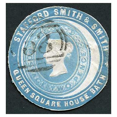AR142 2d Blue Dated 8.5.65 Stafford Smith & Smith Advertising ring