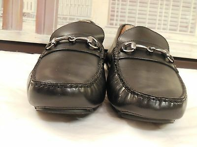 Men's Cole Haan Black Horsebit Styled Driving Moccasins Size 9 M