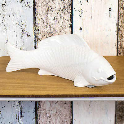 Bathroom fish ornaments picclick uk for Bathroom fish decor