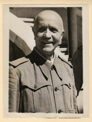 1943 Italian Marshal Pietro Badoglio After Surrender Original Press Photo