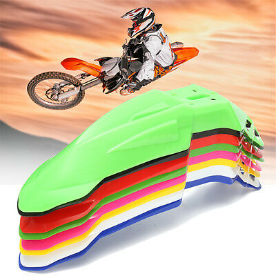 Universal Front Fender Mudguard motorcycle Pit Dirt Bike Motocross Supermoto