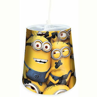 Despicable Me Minions Tapered Ceiling Light Shade New Official