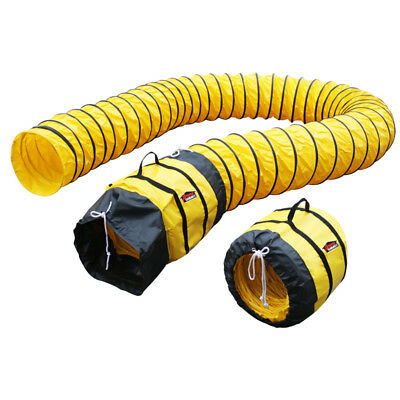 XPower 16DH25 25-Foot Durable Extra Flexible Ventilation PVC Duct Hose
